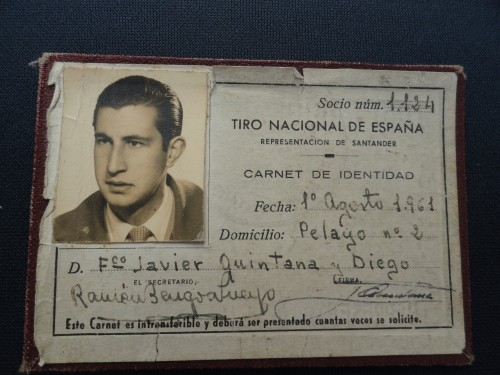 Carnet Federativo Fco. Javier