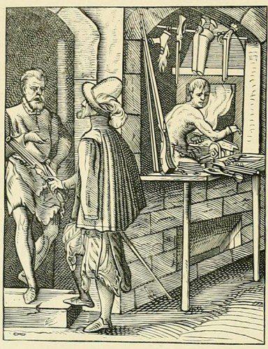 Representación gremio de arcabuceros