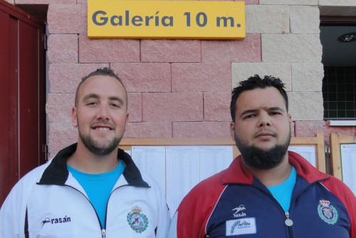 Dos ganadores de Melilla Santi Montis y José María Aspra.
