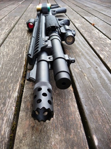 Escopeta Remington Tactical 870