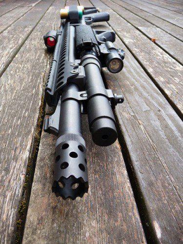 Escopeta Remington Tactical 870