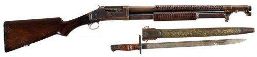 Escopeta de corredera Winchester M1897