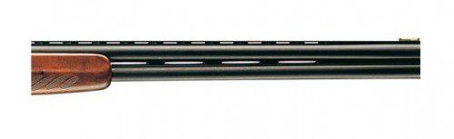 Escopeta superpuesta con la banda ventilada