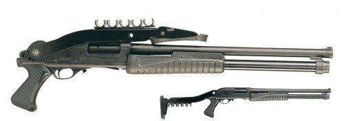 Escopeta ESCORT Aimguard plegado superior