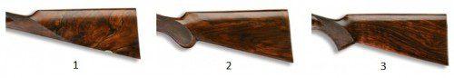 Formas de la culata de una escopeta