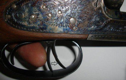 gatillo artículado escopeta