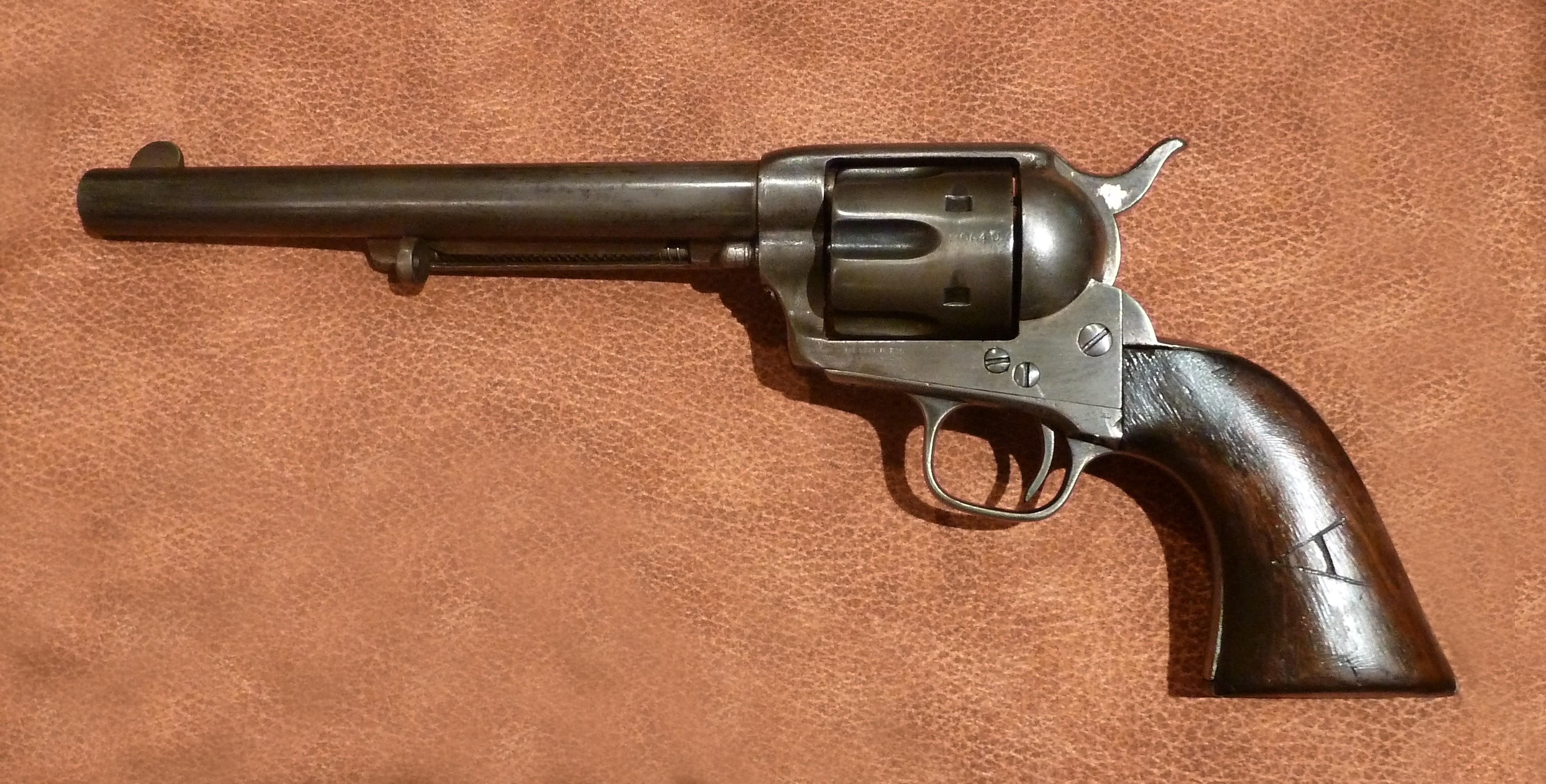 Revólver Colt Single Action Army - Stock Armas