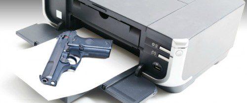 Primera pistola metálica impresa en 3D