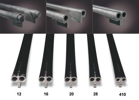 Proceso de fabricación de un cañón de escopeta y calibres que ofrece la casa AYA