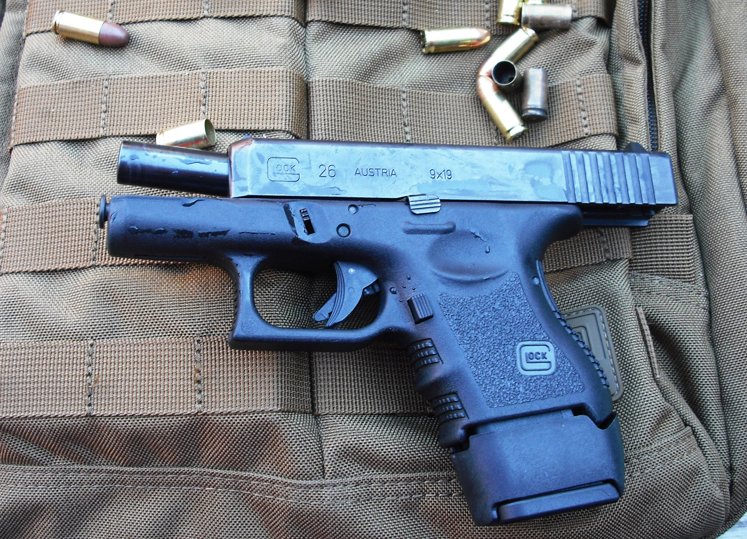 Glock 26 protagonista de la prueba