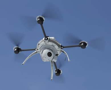 Dron Tecosa Siemens SICUR