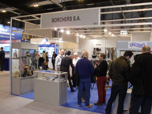 Stand Borchers SICUR