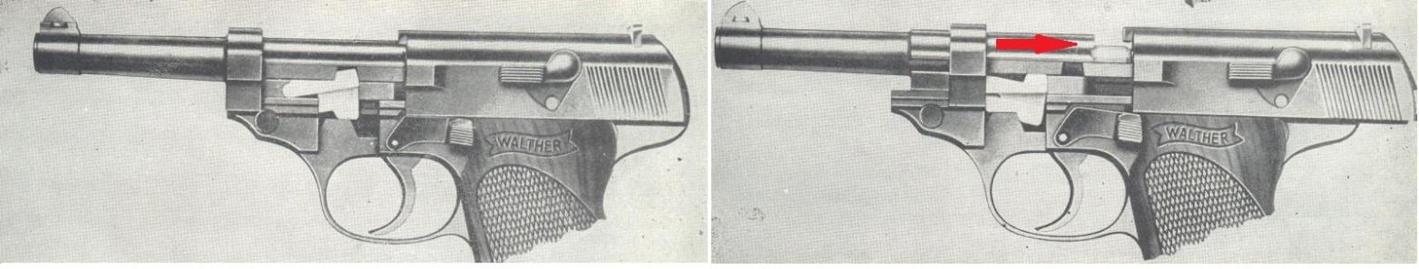Cierre pistola p38