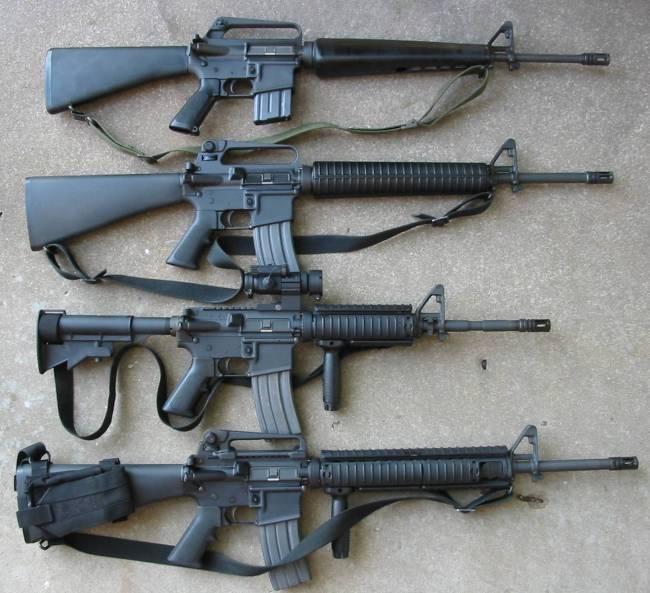 Saga de fusiles M16