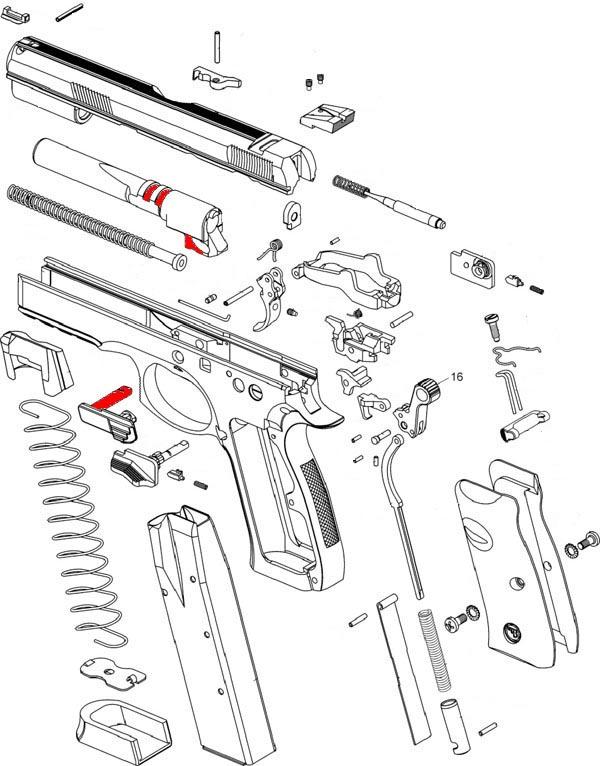 sistema de acerrojamiento browing