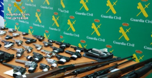 operación bull dog tráfico de armas