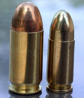 Calibre .45 vs 9mm