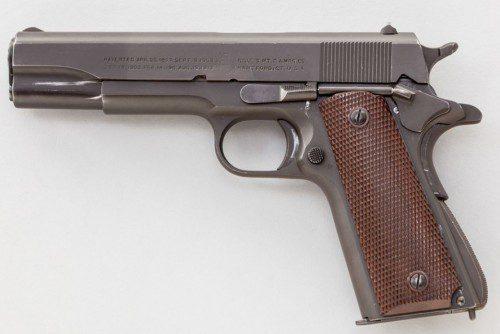 Pistola semiautomática Colt modelo 1911-A1