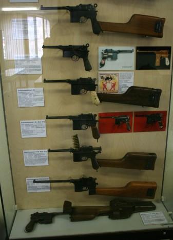 Modelos de pistolas Mauser fabricadas en Oberndorf.