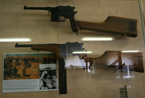 Mauser C96 utilizada por Churchill en la guerra de Sudán