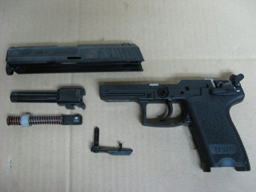 Despiece básico pistola HK USP