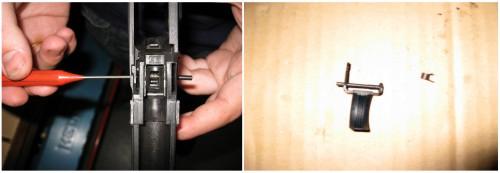 Desmontaje disparador HK USP Compact
