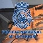 La Policía Nacional ha intervenido en Palma un arsenal de armas de fuego
