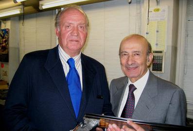 El Rey Juan Carlos e Ivo Fabbri