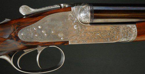 """Imagen de un Rifle express JOHN RIGBY & CO calibre .470 Nitro Express, con cañones de 23"""""""