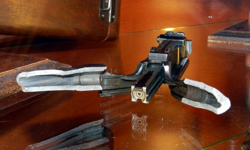 Cañon reventado de la Pistola mauser c96