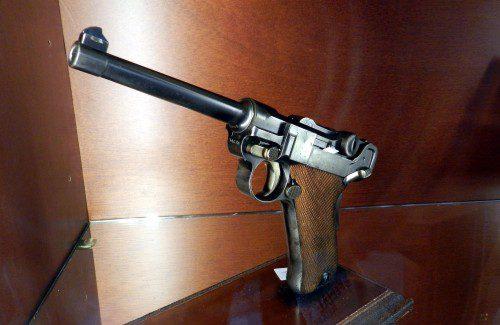 Pistola Luger modelo P-00 año 1900