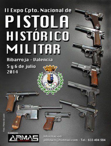 II-EXPO/CAMPEONATO  PISTOLA HISTORICO MILITAR