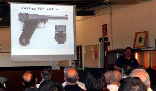 Exposición pistola Luger Ribarroja 2014. Expocampeonato pistola Histórico militar