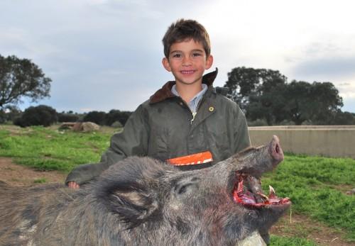Los jóvenes no cazan