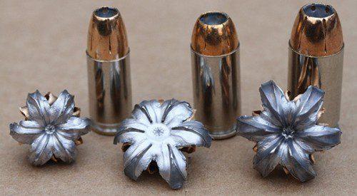9mm, 40 s&W y .45 HP