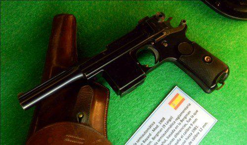 Pistola Bergman Bayard Mod 1908