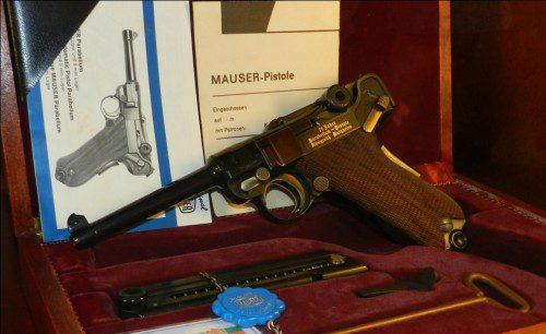 Mauser modelo 1906 conmemorativa del 75 aniversario de adopción por el ejército Húngaro
