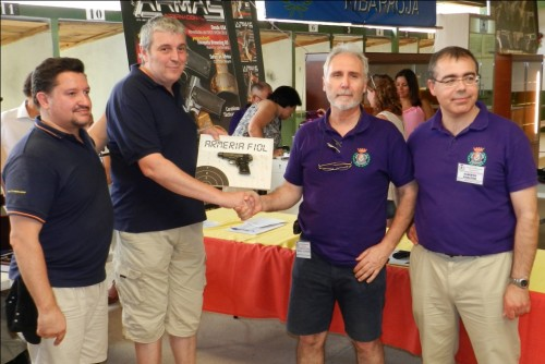 Entrega de trofeos Campeonato pistola históricomilitar 2014