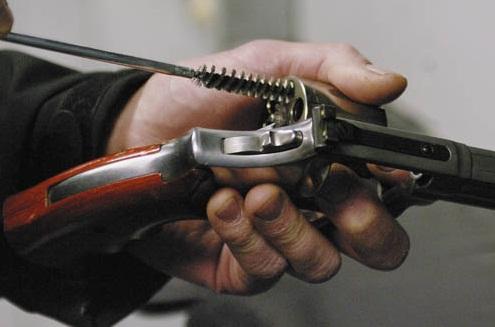 limpieza revolver