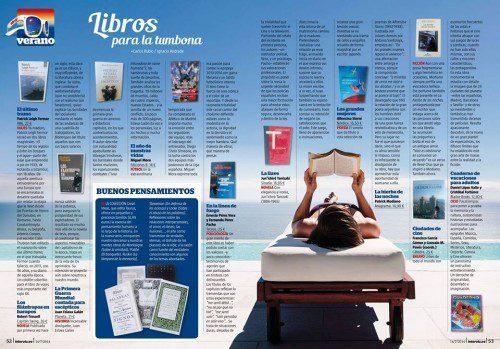 Recomendaciones para leer este verano publicadas en la Revista Interviu