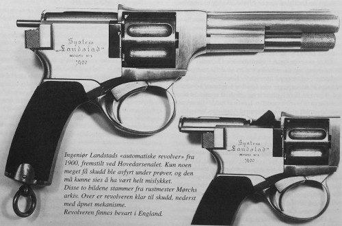 Revolver Landstad 1900