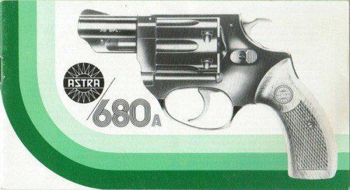 Imagen del libro de instrucciones del Astra 680