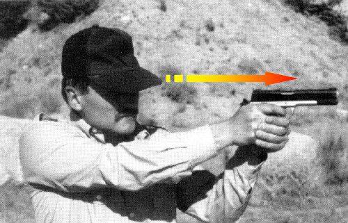 claves empuñamiento pistola de defensa