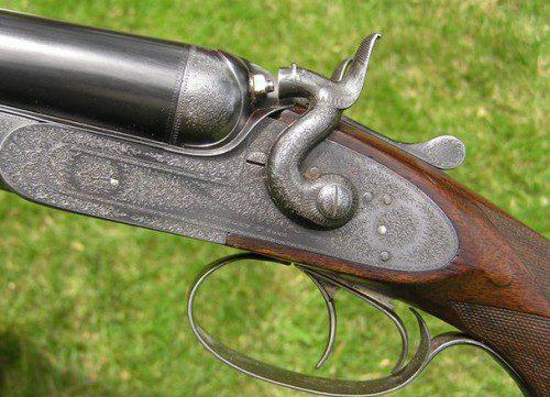 Escopeta de perrillos Purdey