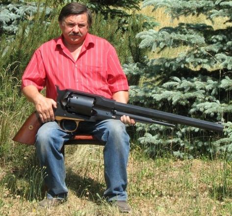 El revólver más grande del mundo