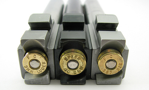 Calibre 9mm vs 40 S&w vs 357 SIG