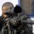 Francotirador perteneciente al Grupo de Tiradores de Precisión (GAP)