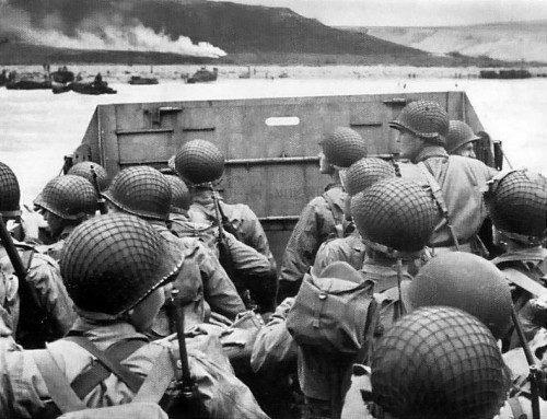 Desembarco Normandía dia D