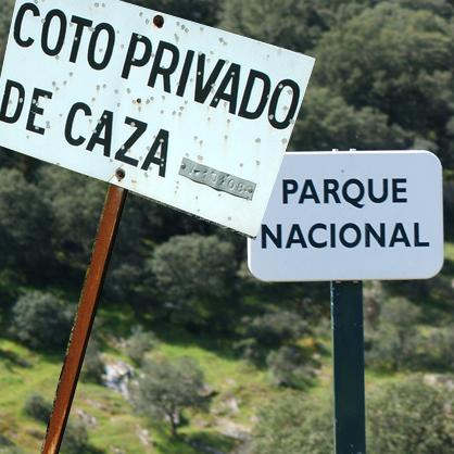 Caza en Parques Nacionales