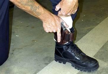 Pistola Backup tobillo